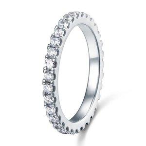 Inel din argint Eternity Love