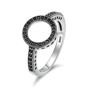 Inel din argint Forever Yours black