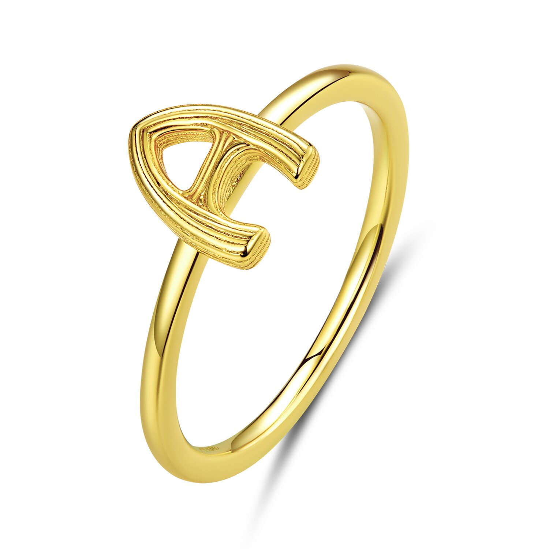 inel din argint golden a 73633 4