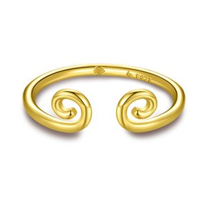 Inel din argint Golden Monkey Ring