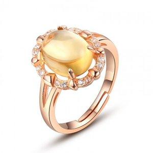 Inel din argint Golden Royal