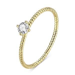 Inel din argint Golden Wedding Ring