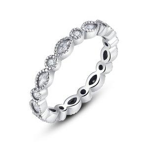 Inel din argint Infinite Cristals