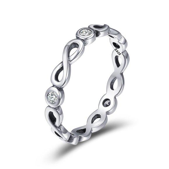 Inel din argint Inifnite Silver Ring