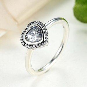 Inel din argint Love Heart Ring