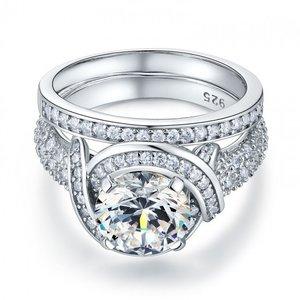 Inel din argint Massive Stylish Clear