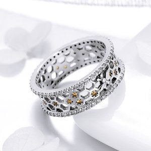 Inel din argint Mica Albinuta