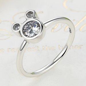 Inel din argint Mickey Shape