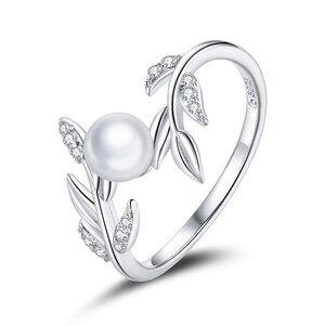 Inel din argint Mystery Pearl