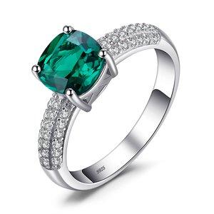 Inel din argint Perfect Emerald