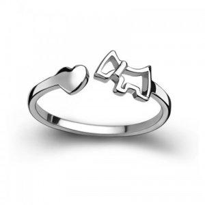 Inel din argint Puppy Love