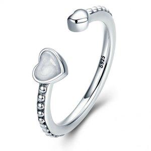 Inel din argint Pure Hearts