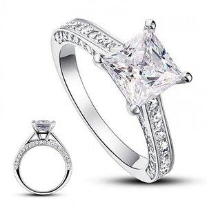 Inel din argint Queen's Diamond