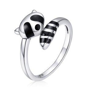 Inel din argint Raccoon Ring