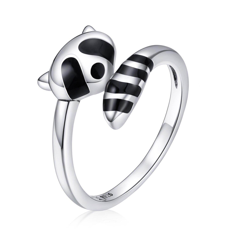 inel din argint raccoon ring 74092 4