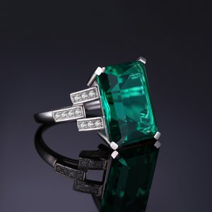 Inel din argint Royal Emerald