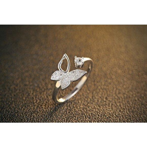 Inel din argint Silver Butterfly