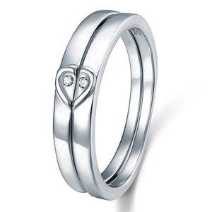 Inel din argint Silver Heart