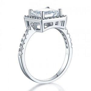 Inel din argint Simple Massive Square