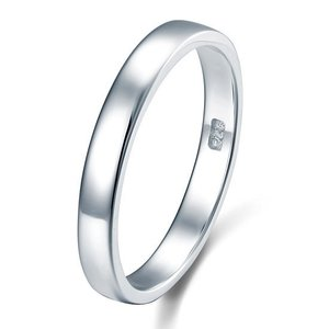 Inel din argint Simple Ring Band