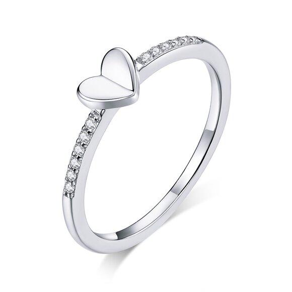 Inel din argint Sparkling Love