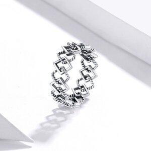 Inel din argint Squares Band
