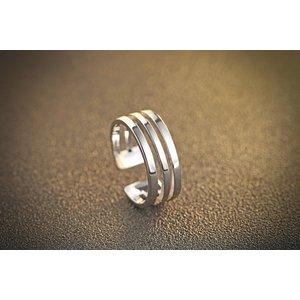 Inel din argint Triple Silver