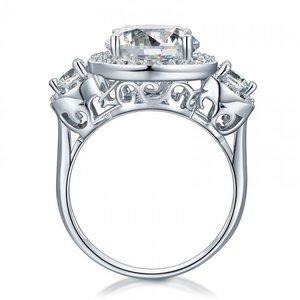 Inel din argint Triple Wish Clear