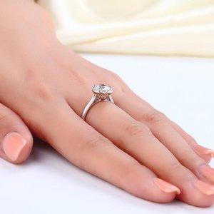Inel din argint Valentine's Diamond Ring