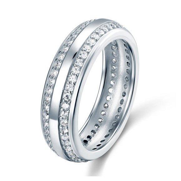 Inel din argint Wedding Round Love