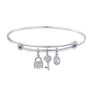Lock and Key Bangle