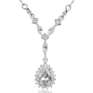 Pandativ cu lantisor din argint Elegant Diamonds