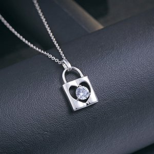 Pandativ cu lantisor din argint Silver Lock