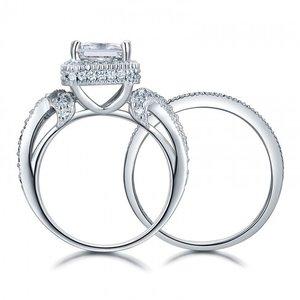 Set inele din argint Massive Luxury Diamond