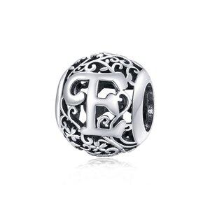 Talisman din argint Alphabet Letter E