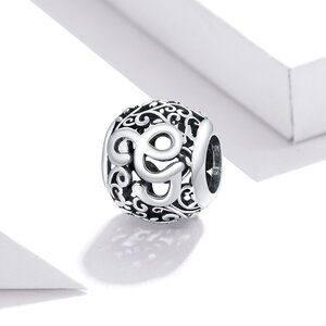Talisman din argint Alphabet Letter G