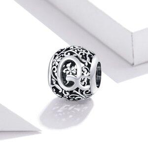 Talisman din argint Alphabet Letter Q