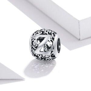 Talisman din argint Alphabet Letter Z