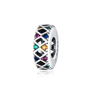 Talisman din argint Amazing Colors Bead