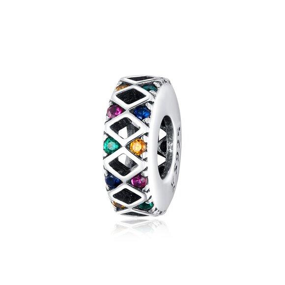 Talisman din argint Amazing Colors Bead