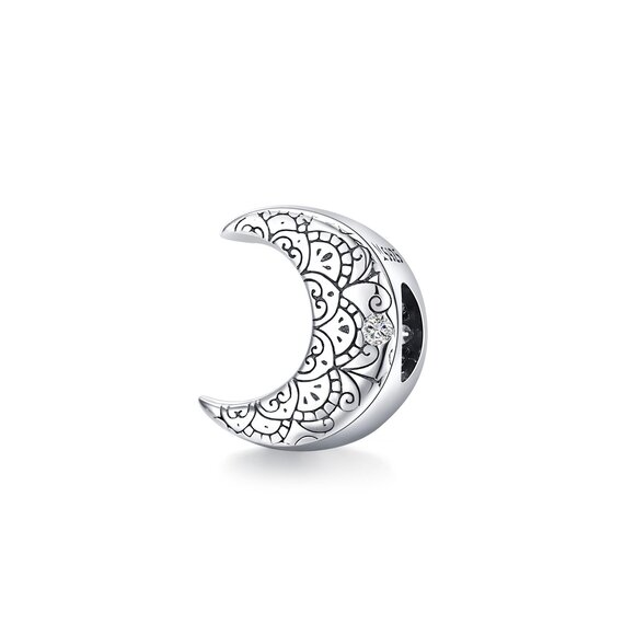 Talisman din argint Amazing Moon