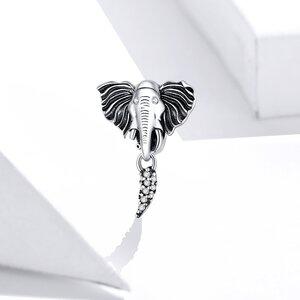 Talisman din argint Ancient Elephant