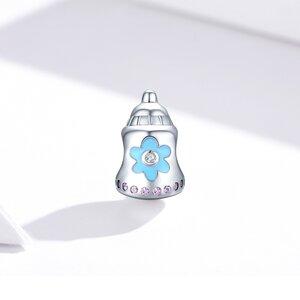 Talisman din argint Baby Bottle