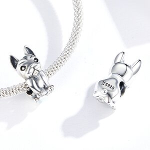 Talisman din argint Baby Bulldog