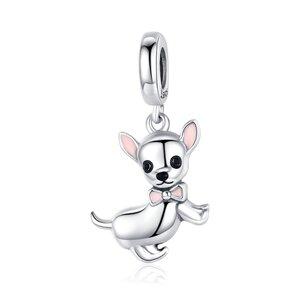 Talisman din argint Baby Chihuahua