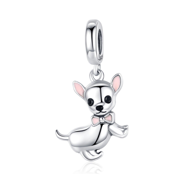 Talisman din argint Baby Chihuahua poza 2021