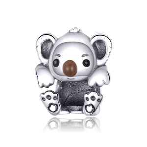 Talisman din argint Baby Koala