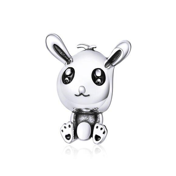 Talisman din argint Baby Rabbit