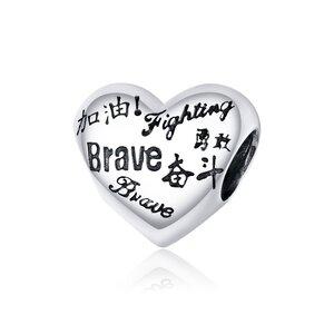 Talisman din argint Be Brave