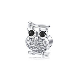 Talisman din argint Beautiful Owl